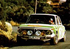 Classic rally cars — A. Warmbold portugal 75'