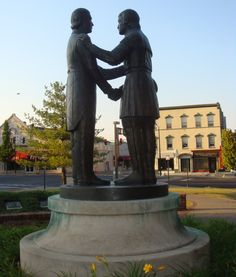 Constitution Square in Danville