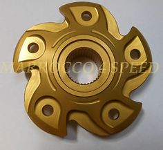 ducati sprocket carrier 748 916 996 998 s4rs s2r 800 1000 multistrada 1000 1100 - Categoria: Avisos Clasificados Gratis  Item Condition: NewExclusive accessories for your Ducati !New aluminum Sprocket carrier with 5hole mounting in gold anodizedMachined from billet aluminum CNC ! Perfect workmanship and fit !Suitable for the Following Ducati modelsMonster S2R 800 1000 ccMonster S4RMonster S4RSMonster 796 1100Monster 1100 EVOMonster 1100 EVO DieselMultistrada 1000 1100Hypermotard 796…