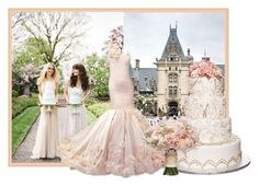 """Castle Wedding"" by sjlew ❤ liked on Polyvore featuring Dennis Basso"