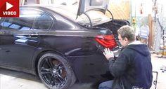 Russische Mechaniker ersetzt beschädigte hinten BMW 7er F01 selbst BMW BMW 7-Series Offbeat News Russia Video