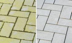 Grünspan und Moos lassen sich auch ganz leicht ohne Schrubben entfernen. Ob gekaufte oder Haushaltsmittel: Das funktioniert gegen den grünen Belag.
