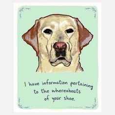 Labrador Retriever Shoe now featured on Fab.