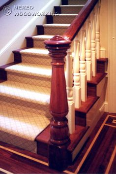 Victorian woodwork.  I want to open the dining room up to the stairs