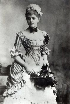 Baroness Mary Vetsera, c.1880s (b/w photo) by Austrian Photographer on Magnolia Box Baroness Marie Vetsera (1871 - 1889 Mistress of Crown Prince Rudolph. Found dead with him at Mayerling. https://www.pinterest.com/bellringer1/