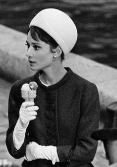 Audrey Hepburn in Charade (1963).