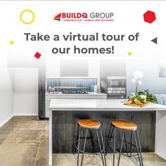 Virtual Tour, Home Builders, Beautiful Homes, Building A House, Sweet Home, Tours, Table, Furniture, Home Decor