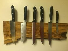 How to build a magnetic knife holder