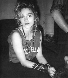 Madonna, so young, and I was even younger. ICON.
