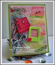 Latina Crafter - Sellos en Español: Desde el taller de Giovana: Watercolor & Mix Media!!