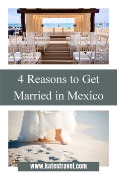 We know destination weddings are less expensive than a traditional wedding at home. They are also more fun, less stressful, and include a lot more perks! These are the top four reasons most couples choose an all-inclusive resort in Mexico for their tropical wedding venue. Wedding Set Up, Home Wedding, Wedding Ideas, Beach Vacations, Beach Trip, Beach Weddings, Destination Weddings, Reasons To Get Married, Wedding Certificate