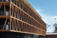 Bruno Franchi Architecture  New Bora Hotel and Spa Resort,  Lake of Constance Wood and glass facade