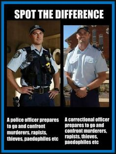 At least a lion tamer goes into the lion's cage with a whip and a chair - correctional officers don't even have that. Prison Officer, Police Officer, Correctional Officer Humor, Probation Officer, Law Enforcement Wife, Police Memes, Tgif Funny, Cops Humor, Department Of Corrections
