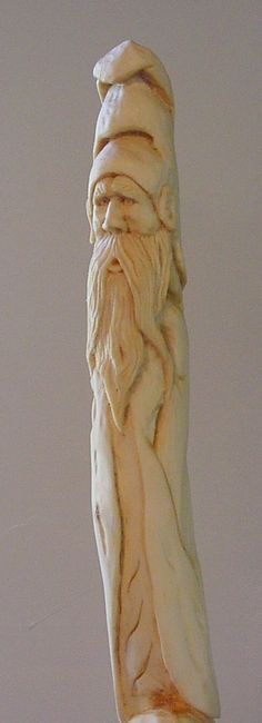 wizard walking stick - Woodcarving Illustrated Photo Gallery