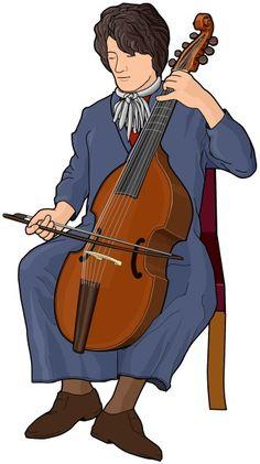 viola da gamba : bowed string instrument