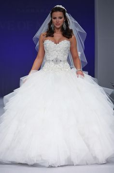 Ball gown wedding dresses, Eve of Milady, Fall 2012