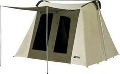 kodiak® canvas flex bow tent – 10' x 10'