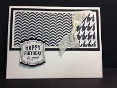 A Labeled Love Birthday Stampin' Up! Rubber Stamping Handmade Cards