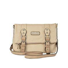 beige buckle fold over bag - cross body bags - bags / purses - women - River Island