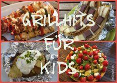 Damit es beim Grillen nicht langweilig wird, sammeln wir Rezepte für die ganze Familie. Vom Salat über die perfekte Marinade, Beilagen und den Nachtisch vom Grill - unsere Grillrezepte, die auch Kinder lieben, findet ihr hier: http://www.familienkost.de/grillrezepte.php