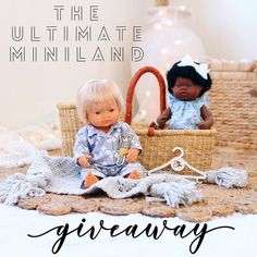 We've teamed up with some of our favourite stores to giveaway this fab prize to one lucky winner! Crochet Doll Clothes, Doll Clothes Patterns, Wish Boutique, Louise Jones, African Girl, Toy 2, Crochet Patterns Amigurumi, Educational Toys, Giveaway