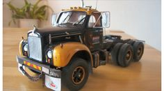 Truck models Mack Trucks, Big Rig Trucks, Toy Trucks, Chevy Trucks, Pickup Trucks, Plastic Model Kits, Plastic Models, Model Truck Kits, Model Car