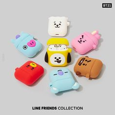 Ready to pull off new items as your everyday look? Available now on LINE F… - Meine Tech World 2020 Mochila Do Bts, Bts Doll, Cute Ipod Cases, V Chibi, Cute Headphones, Bts Clothing, Accessoires Iphone, Line Friends, Kpop Merch