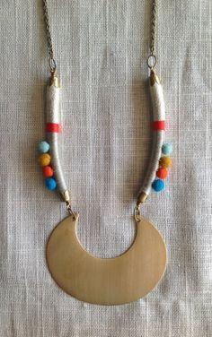 MARISA Necklace Color Study No. 33Bold por NestoftheBluebird, $48.00