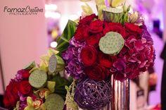 Beautiful Wedding Reception Center Pieces