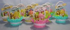 Candy Cup Easter Baskets - Beth-A-Palooza