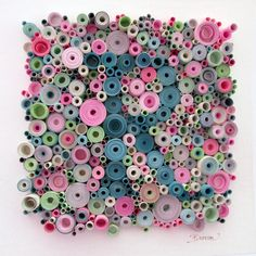 Quilled R for a child's room - by: Laurie Brown FineArt - on Etsy - Sold - https://www.etsy.com/transaction/188469808?ref=shop_review