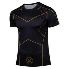 Men Quality Compression America Gym T-shirt