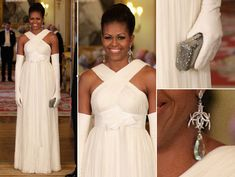 first lady in tom ford. wow!