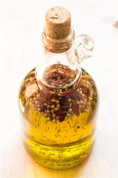 dried herb infused olive oil recipes