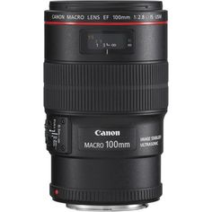 Canon EF 100mm f2.8L Macro IS USM Lens (3554B005AA) - Wex Photographic