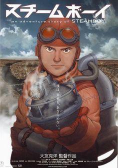 Steamboy (スチームボーイ Suchîmubôi), 2004.