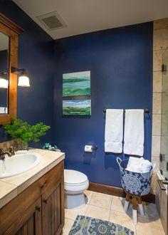 1000 ideas about navy blue bathrooms on pinterest blue bathrooms navy bathroom and blue. Black Bedroom Furniture Sets. Home Design Ideas