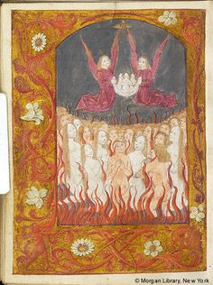 Book of Hours, MS M.166 fol. 126v - Images from Medieval and Renaissance Manuscripts - The Morgan Library & Museum