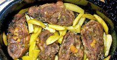Σπιτικές παραδοσιακές συνταγές, μαγειρικής - ζαχαροπλαστικής, της γιαγιάς. Greek Recipes, Pork Recipes, Slow Cooker Recipes, Cooking Recipes, Pastry Cook, Good Food, Yummy Food, Greek Dishes, Happy Foods