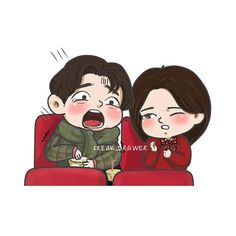 Gong Yoo (Kim Shin) screaming while watching his own movie 'Train to Busan' Goblin 도깨비 Ost Goblin, Goblin Art, Goblin Kdrama Fanart, Goblin Kdrama Funny, Goblin Funny, Goblin Korean Drama, Fan Art, Korean Art, Gong Yoo