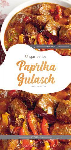 Hungarian paprika goulash – Famous Last Words Shellfish Recipes, Shrimp Recipes, Snack Recipes, Cooking Recipes, Healthy Eating Tips, Healthy Nutrition, Healthy Cooking, Hungarian Paprika, Seafood Appetizers
