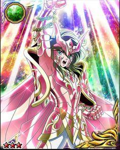 Shun é a armadura sagrada de Andrômeda