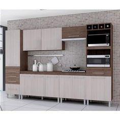Cozinha Compacta 6 Peças com Kit 2 Fornos Ravena Indekes