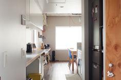 冷蔵庫は少し奥のほうに。それだけでキッチンがスッキリして見えます。#K様邸練馬高野台 #ダイニング #キッチン #冷蔵庫 #収納 #インテリア #EcoDeco #エコデコ #リノベーション #renovation #東京 #福岡 #福岡リノベーション #福岡設計事務所 Cabinet, Storage, Furniture, Home Decor, Clothes Stand, Purse Storage, Decoration Home, Room Decor, Closet