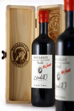"Merlot Cà Biasi per Osteria Madonnetta. ""Special Edition Cento10 Anniversary"" #wine #merlot #italianwine #marostica"