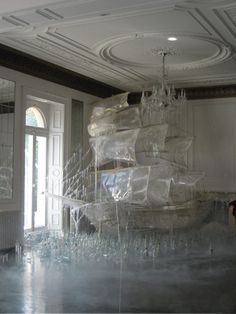 Tim Walker for Vogue US - Ice ship