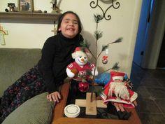 Charlie Brown Christmas with Emmalea 2012