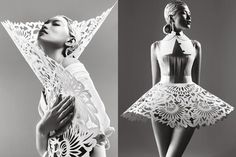 Harper's Bazaar China May 2012: Paper Sculpture - Fashion | Popbee - http://popbee.com/fashion/harpers-bazaar-china-may-2012-paper-sculpture/