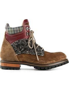 Dsquared2 Panelled Ankle Boots - Al Duca D'aosta - Farfetch.com