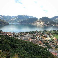 Pisogne (Brescia, Italy) panorama